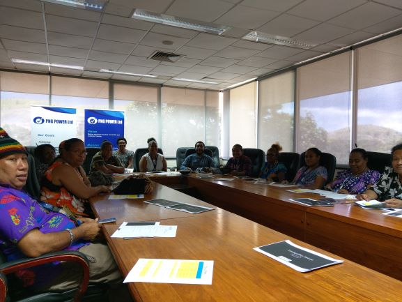 , BCPM Limited presents Tranquility Estate to PNG Power staff