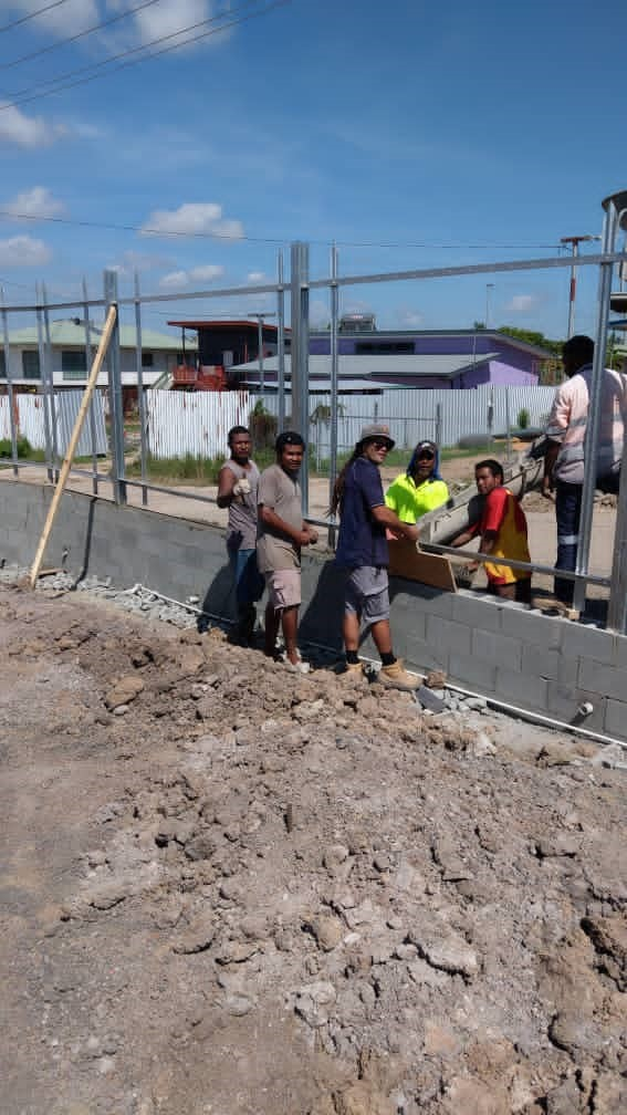 Alex Simpson, Alex Simpson and BCPM- New Build in Moresby